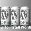 レンタルサーバでWordPressを設置してみよう!