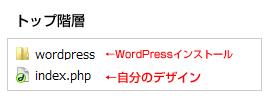 WordPressをテーマを使わないで自分のデザインに入れる場合