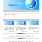 WordPress  レスポンシブ テンプレート の メニューやブログの設置