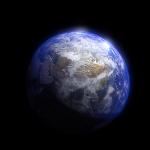 Blender Three.js 地球 その2(ノード)