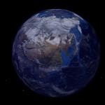 Blender Three.js 地球 その3(ベイクと星)