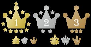 ランキング 王冠 素材